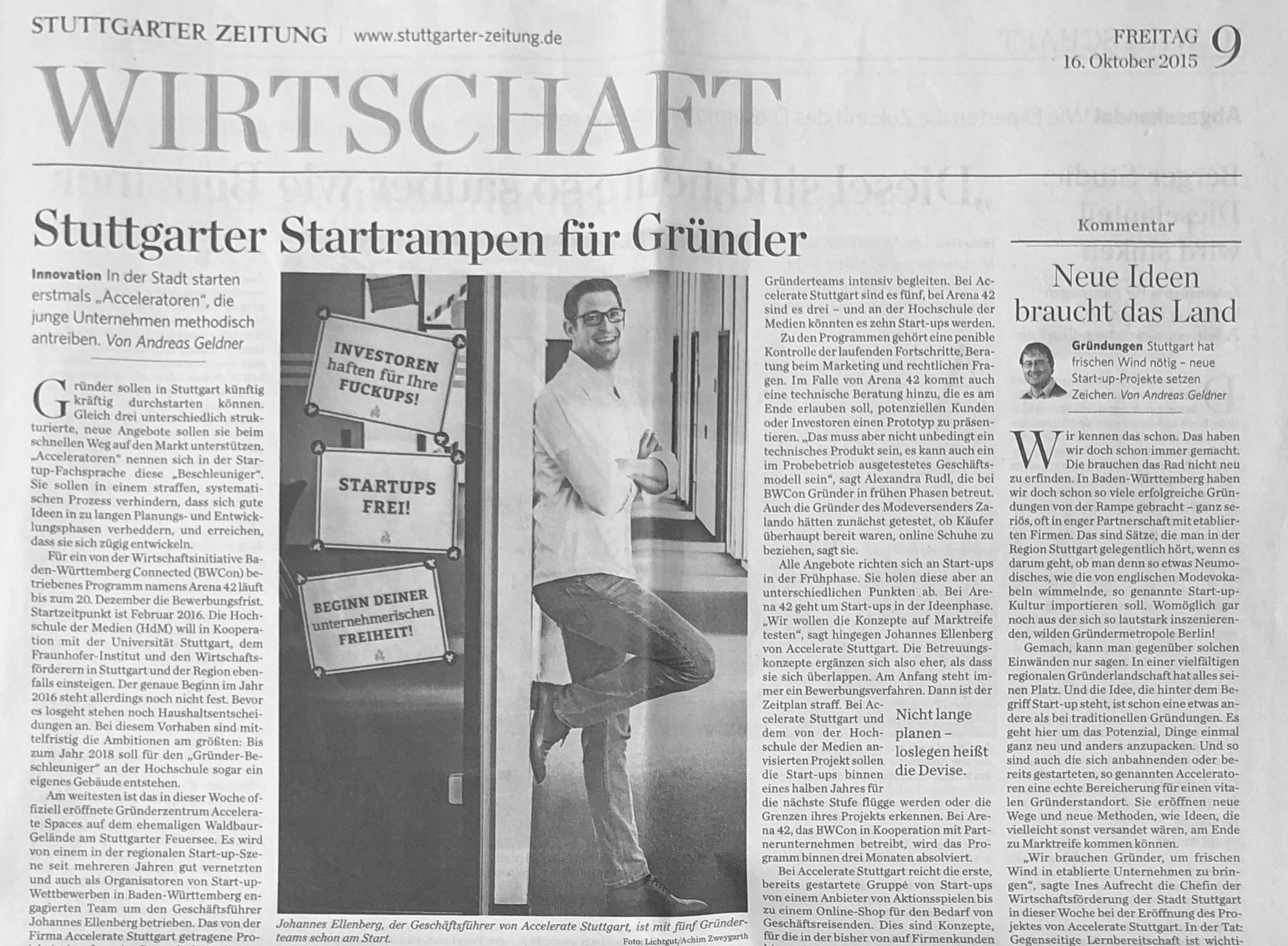 Mediadaten - Stuttgarter Zeitung Werbevermarktung